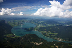 Wolfgangsee royalty free stock photography
