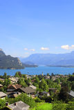 Wolfgangsee lake in Alps, Austria Royalty Free Stock Image
