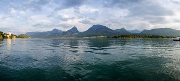 Wolfgangsee Lake. Lake Wolfgangsee in the austrian alps Royalty Free Stock Photography