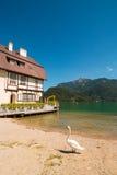Wolfgangsee lake, St. Gilgen, Austria. Stock Photography