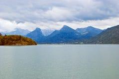 Wolfgangsee, Salzburgerland, Austria Immagini Stock Libere da Diritti
