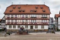 Wolfhagen Tyskland Royaltyfri Foto