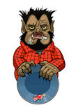 Wolfman Royalty Free Stock Images