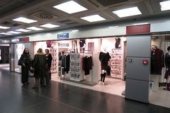 Wolford brand store Stock Images