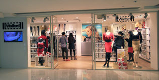 Wolford shoppar i Hong Kong Royaltyfri Foto