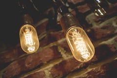 Wolfram lampy Zdjęcie Stock