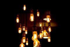 wolfram lichte buis in dark stock fotografie