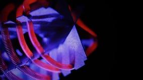 Wolframgloeidraad van straalkachel stock video
