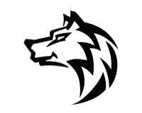 Wolfs hoofdvector Royalty-vrije Stock Fotografie