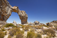 Wolfsberg Arch in the Cederberg Wilderness in South Africa Royalty Free Stock Photo