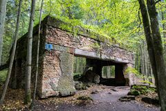 Free Wolfschanze, Wolf`s Lair, Wolf`s Fort - Adolf Hitler`s Command Headquarters On The Eastern Front During World War II. Stock Photography - 214832512