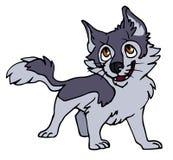 Wolfspuppy royalty-vrije illustratie