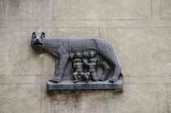 Wolfssymbool van Rome Stock Fotografie