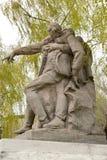 Wolgagrad, Russland Bildhauerisches Zusammensetzung ` Kommandant ` an den Helden quadrieren Mamayev kurgan stockfotos