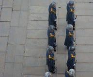 "WOLGOGRAD-†""am 15. Oktober: Militärparade Stockfotos"