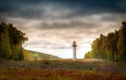 Wolin lighthouse Stock Image