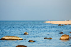 Wolin National Park - beach Royalty Free Stock Photography