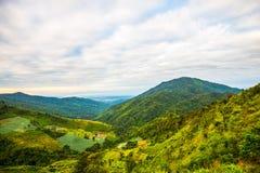 Wolk-behandelde bergen 2 Royalty-vrije Stock Fotografie
