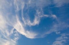 Wolk en blauwe hemel Stock Fotografie