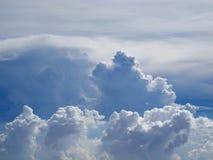 Wolk en hemel, achtergrond Stock Fotografie