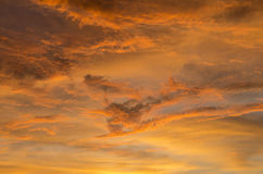 Wolk, hemel en vrede Stock Foto