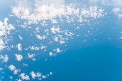 Wolk met blauwe hemel Royalty-vrije Stock Foto