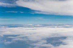 Wolk met blauwe hemel Royalty-vrije Stock Afbeelding
