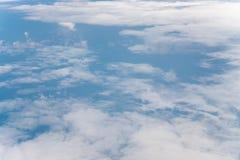 Wolk met blauwe hemel Stock Foto