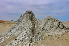 Wolkano del fango Fotografia Stock