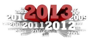 Wolke 2013 Lizenzfreies Stockfoto