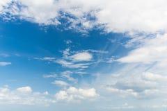 Wolke auf dem Himmel Stockbild