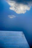 Wolke auf dem Wasser Lizenzfreie Stockfotos