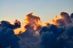 Wolke auf Sonnenaufgang Lizenzfreies Stockbild