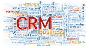 Wolke der Geschäftswörter Lizenzfreie Stockbilder