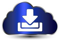Wolke für donwload Lizenzfreies Stockbild