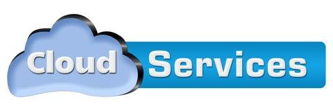 Wolke hält die horizontale Wolke instand Lizenzfreie Stockfotos