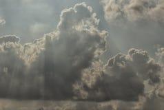 Wolke im blauen Himmel Lizenzfreie Stockfotos