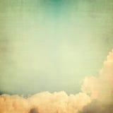 Wolke mit Himmel Stockfoto
