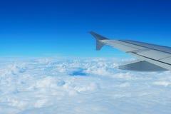 Wolke und Flügel Lizenzfreie Stockfotografie