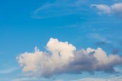 Wolke und Himmel Stockfoto