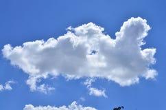 Wolke und Himmel Lizenzfreie Stockbilder