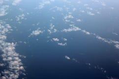 Wolke und Meer Lizenzfreies Stockbild