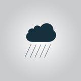 Wolke und Regen Stockfoto