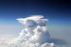 Wolke vom Flugzeug Stockbild
