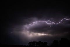 Wolke, zum von Beleuchtung zu bewölken Lizenzfreies Stockbild