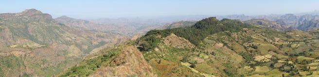 Wolkefit Pass, Ethiopia, Africa. Landscape around the Wolkefit Pass, Ethiopia, Africa Royalty Free Stock Photos