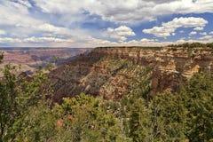 Wolken über dem Grand Canyon Stockfotografie