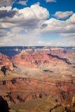 Wolken über dem Grand Canyon Stockfoto
