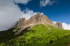 Wolken über dem mountayn großes Thach Lizenzfreies Stockfoto