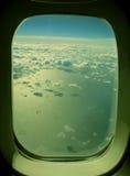Wolken über dem Ozean Lizenzfreie Stockfotos